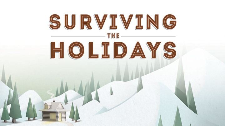Surviving the Holidays logo image