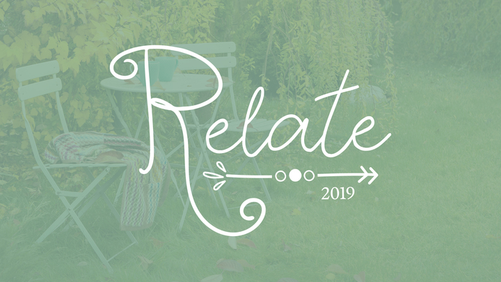 Relate 2019: Growing in Friendship logo image
