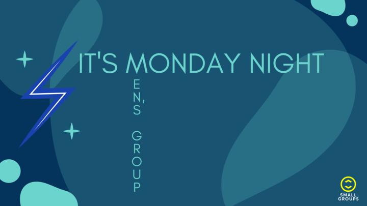 It's Monday Night - Men's Group logo image