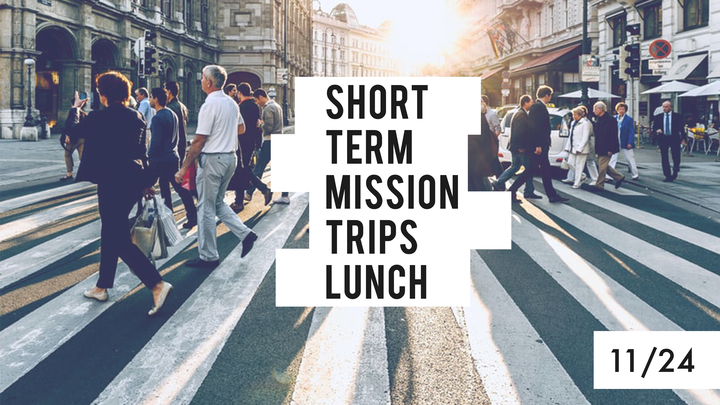 Short Term Mission Trips Lunch logo image