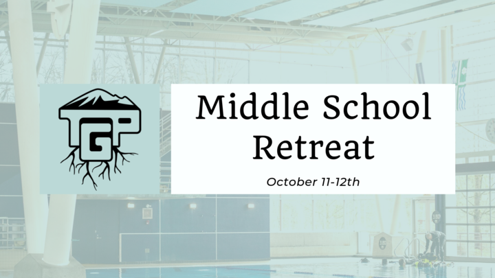 Middle School Retreat logo image