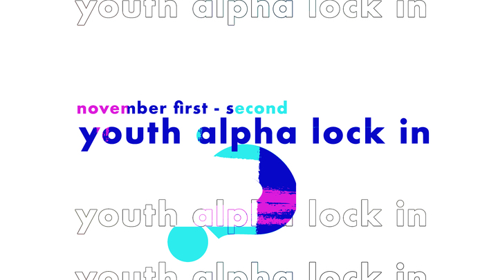 Youth Alpha Lock-In logo image