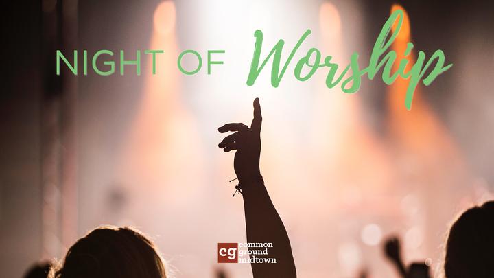 October Worship Night • Childcare Registration logo image