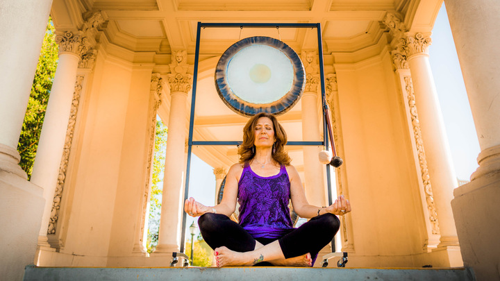 SACRED GONG MEDITATION with Teri Wilder logo image