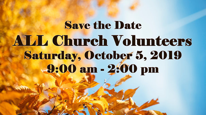 All Church Volunters Event logo image
