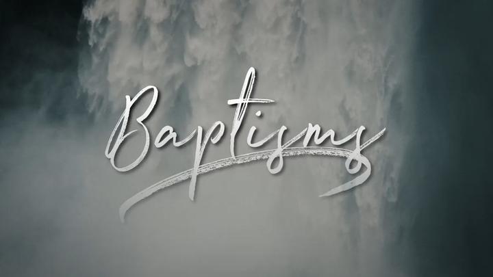 Baptisms September 29 logo image