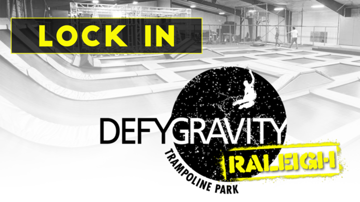 Defy Gravity Radiate Youth Lock-In logo image