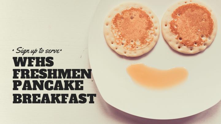 Freshman Pancake Breakfast logo image