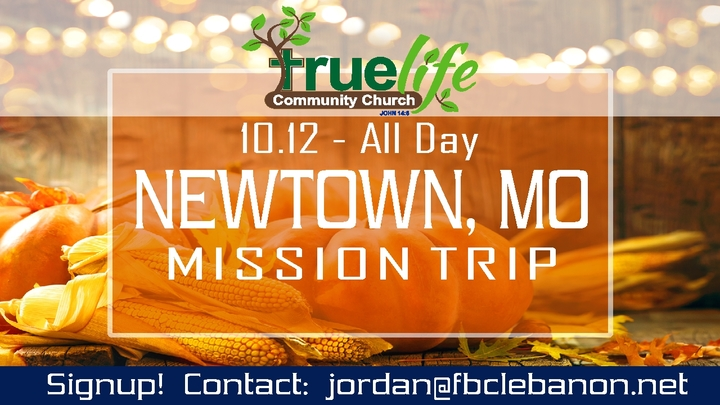 New Town Fall Mission Trip logo image