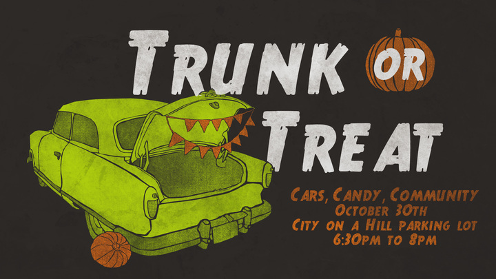 Trunk or Treat - Trunk Sign Up! logo image