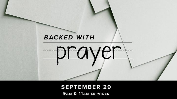 Backed With Prayer logo image