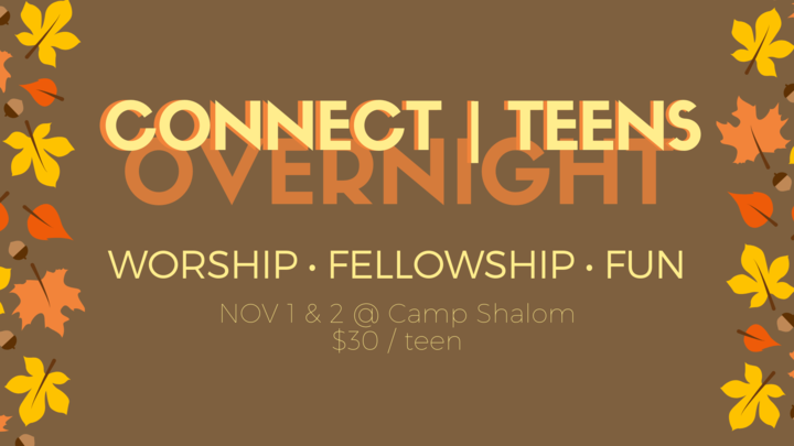 Connect | Teens Overnight logo image