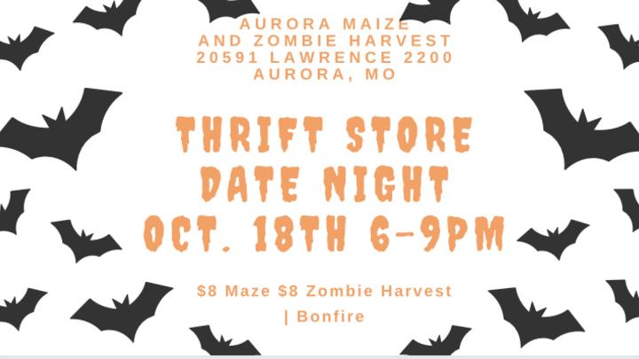 Thrift Store Date Night logo image
