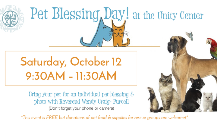 Pet Blessing Day  logo image