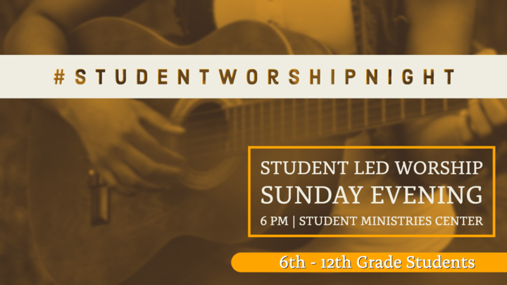 Student Worship Night logo image
