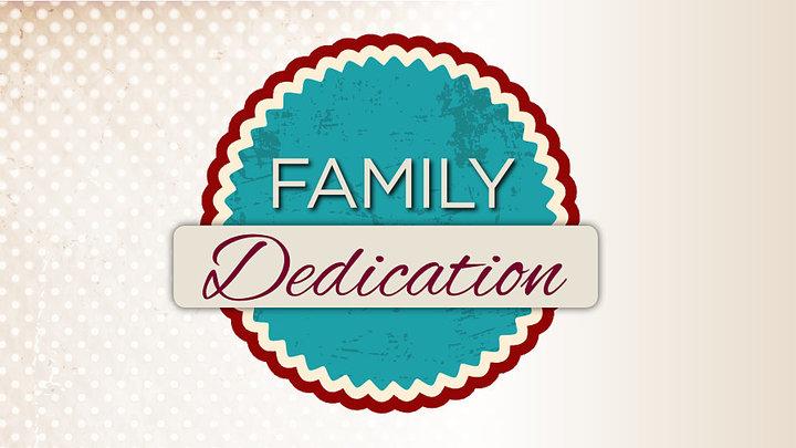 Family Dedication Sunday logo image