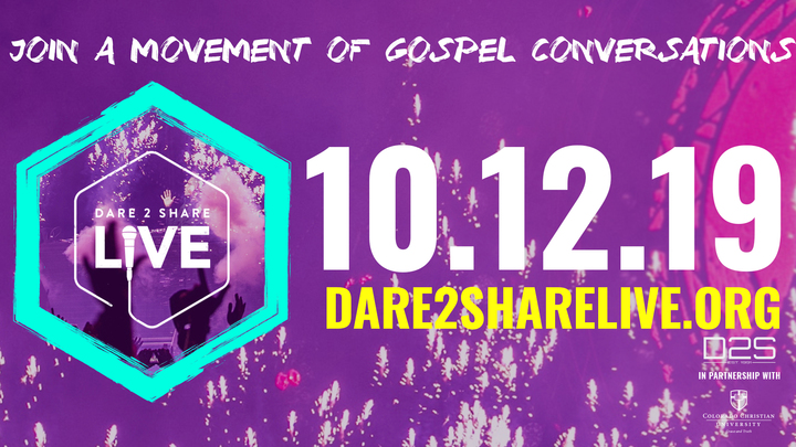 Dare2Share Live logo image