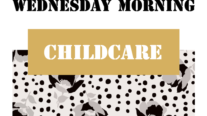 Wednesday MORNING  Womens' Groups Childcare logo image