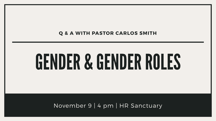 HR | Gender and Gender Roles in the Church: a Q&A logo image