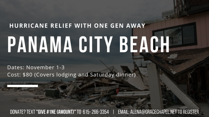 Panama City Beach Disaster Relief Trip logo image