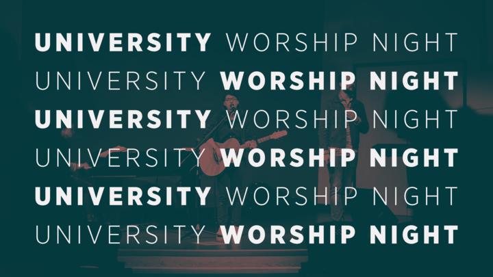 University Worship Night logo image