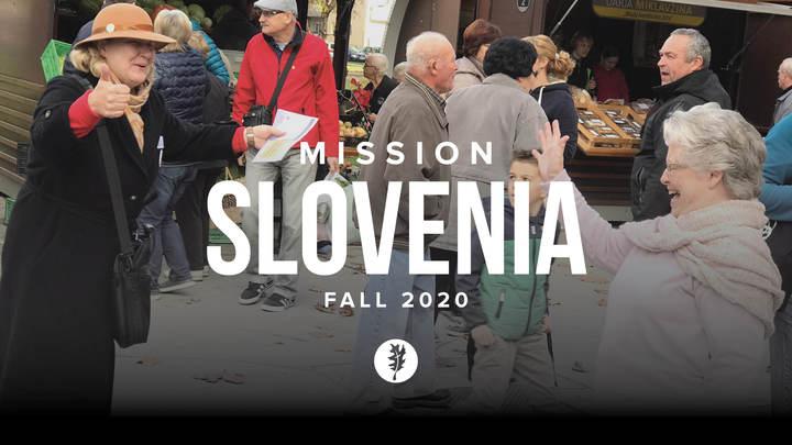 Mission Slovenia Fall 2020 logo image