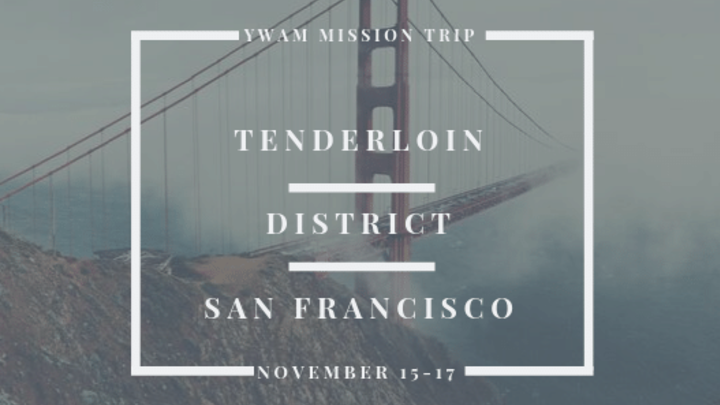 High School Mission Trip - YWAM in SF logo image