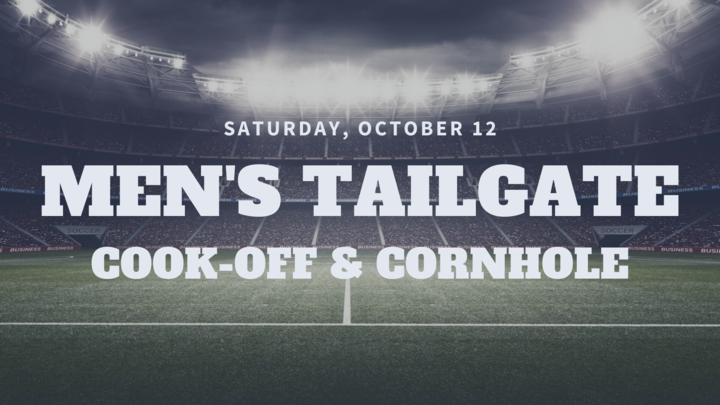 Men's Tailgate: Cook-off and Cornhole Tournament logo image