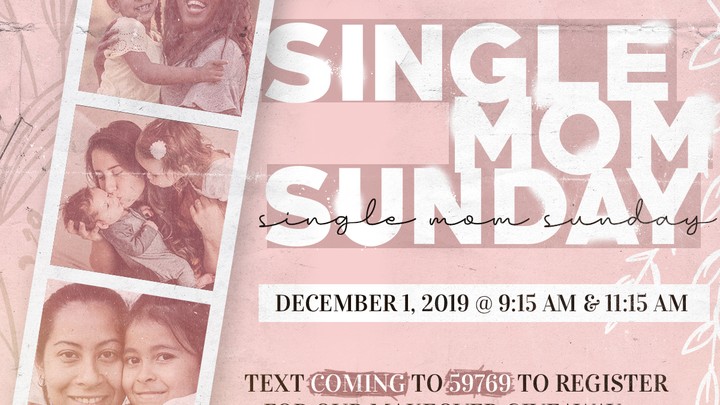 Single Mom Sunday logo image