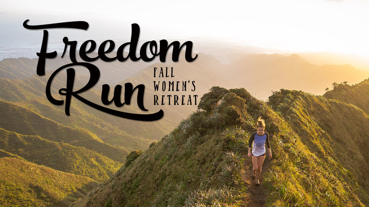 "2019 Fall Women's Retreat ""Freedom Run"" logo image"