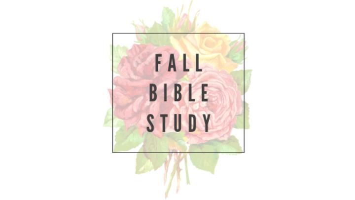 Fall Woman's Bible Study 2019 logo image