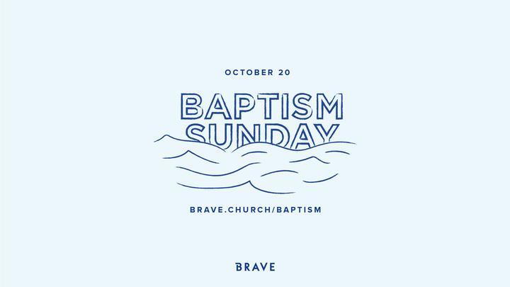Baptism Sunday - October 20, 2019 logo image