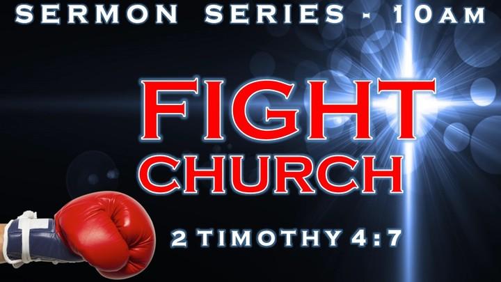 "New Series ""Fight Church"" logo image"