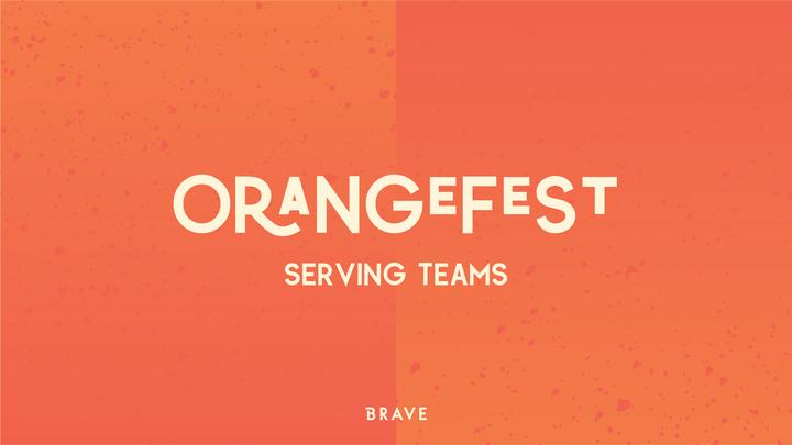 Serve @ ORANGEFEST logo image