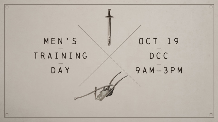 Men's Training Day logo image