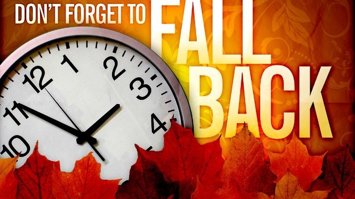 Fall Back ~ Time Change logo image