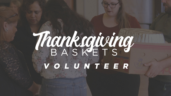 Burleson-Thanksgiving Baskets- Volunteer Sign-up logo image