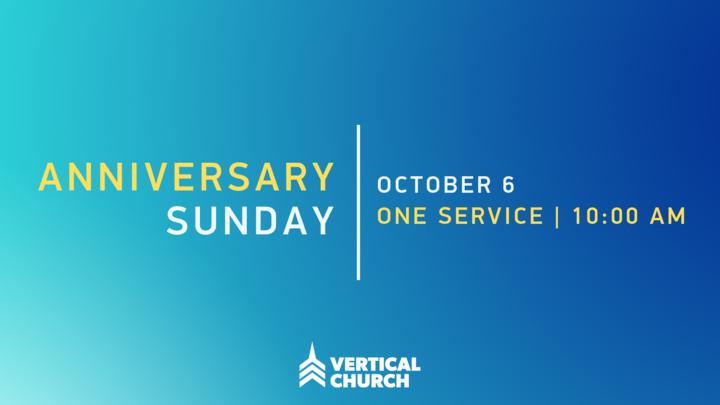 Anniversary Sunday Potluck logo image