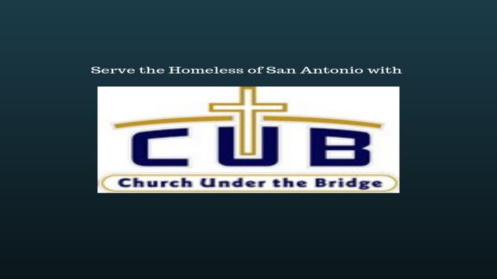 Church Under The Bridge logo image