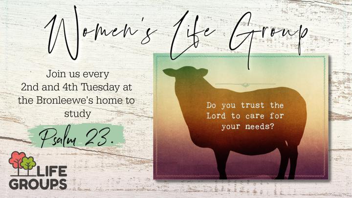 Women's Psalms 23 Life Group logo image