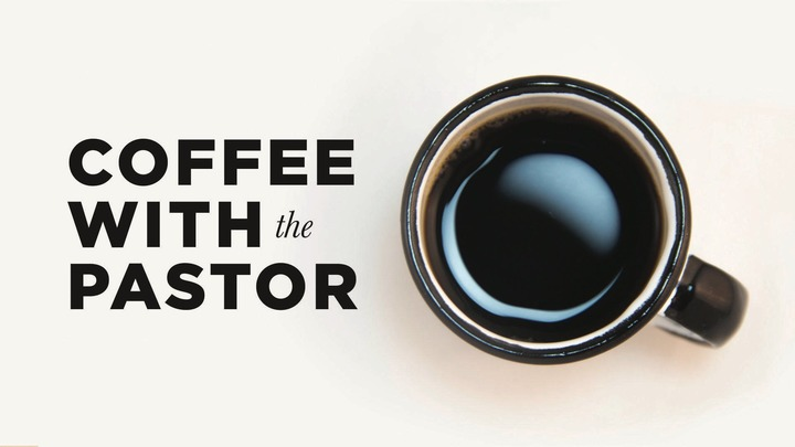 Coffee with the Pastor logo image