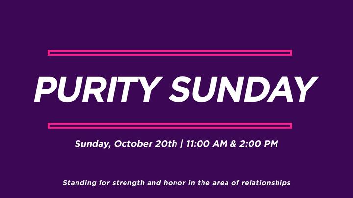 Purity Sunday  logo image