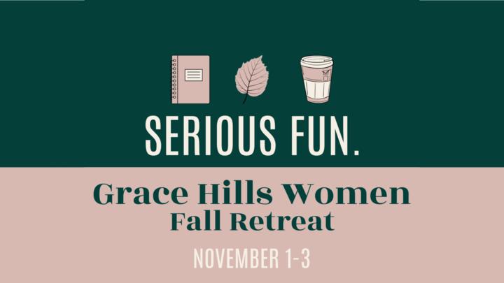 GH Women Fall Retreat 2019 logo image