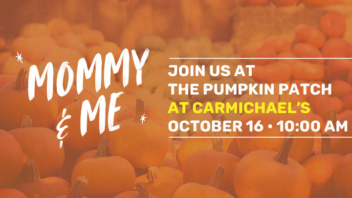 Mommy and Me at the Pumpkin patch  logo image