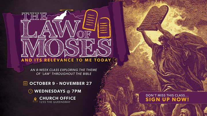 THE LAW OF MOSES Class logo image
