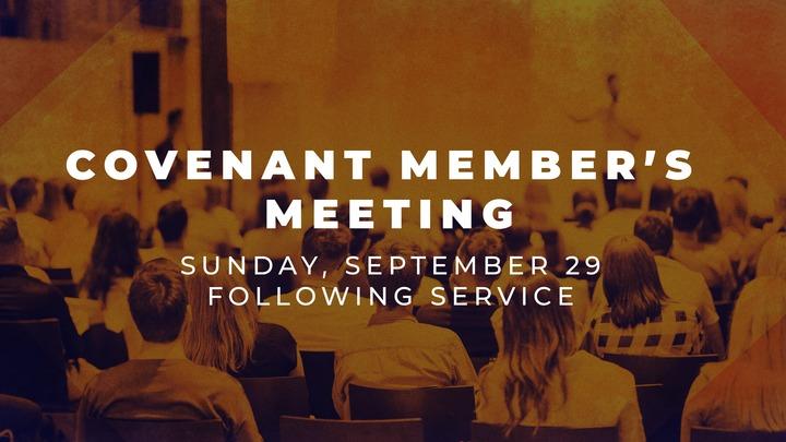Covenant Member's Meeting logo image