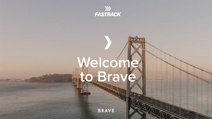 Fastrack: Step 1 Welcome to Brave logo image