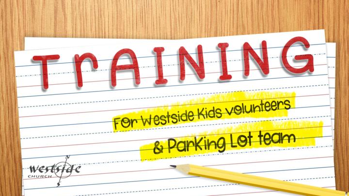 Training for Westside Kids & Parking Lot Volunteers logo image