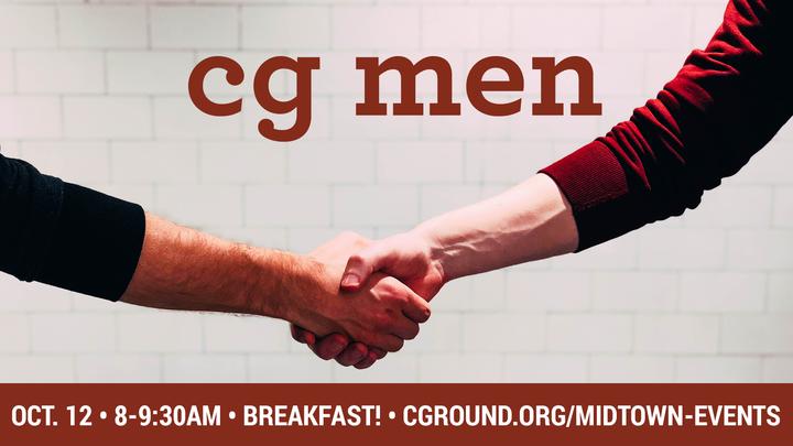 CG Men •October 2019 logo image