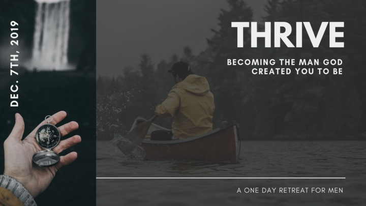 Thrive: Men's Ministry Day Retreat  logo image
